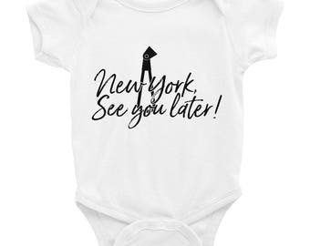 NY See You Later Baby Onesies!