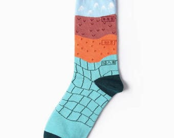 earth sciences and stuff socks, free shipping, cute socks