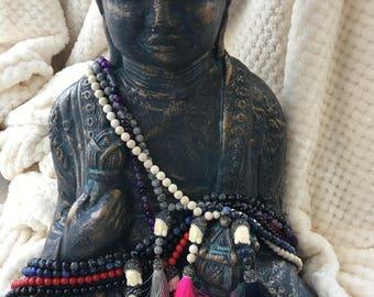 Gemstone Buddha Necklace - FREE SHIPPING!