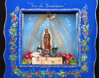 Niche of the Virgin of Guadalupe, miniature