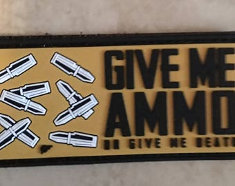 Give me Ammo Morale Patch