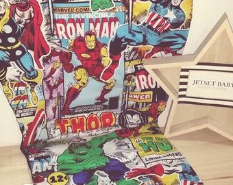 Universal Pram Liner Marvel Superhero