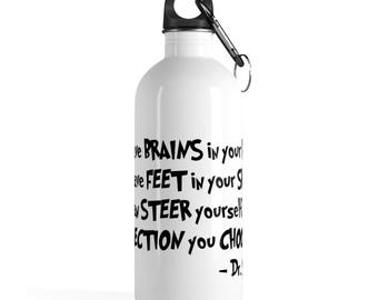 Dr. Seuss Stainless Steel Water Bottle