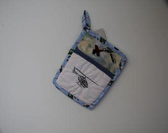 Helicopter Aircraft Pot Holder