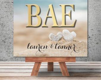 """Unique Custom Art: """"Bae"""""""