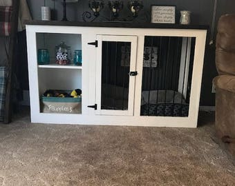 Dog Kennel, Rustic, Farmhouse, Dog House, Pet, Kennel, Crate