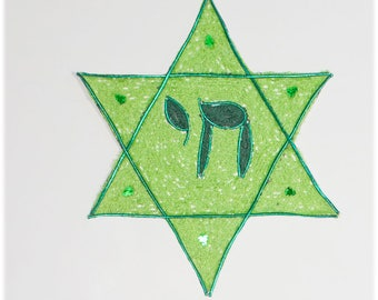 Star of David with Chai