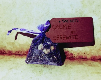"Small Bag ""CALM and SERENITY"""