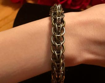 Men's Chainmaille bracelet