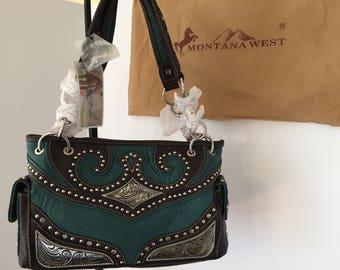 Western saddlebag handbag