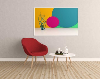 Abstract illustration 3D Artwork