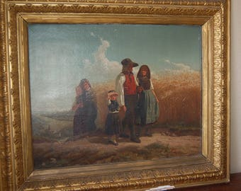 The Peasants Oil Painting