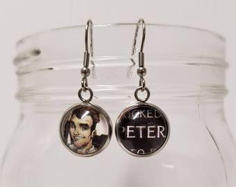 Peter Venkman Earrings (Ghostbusters)
