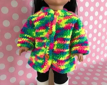 """18"""" Doll Coat"""