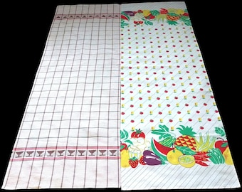 2 Vintage French Table Runners