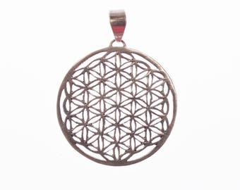 Flower of Life of silver small