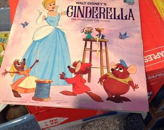 Walt Disney's Cinderella the story and the songs