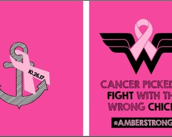 AmberStrong Breast Cancer Tshirt