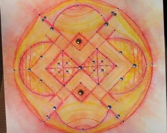 Peaceful mandala 9