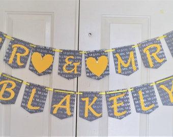 Wedding banner , Wedding decor