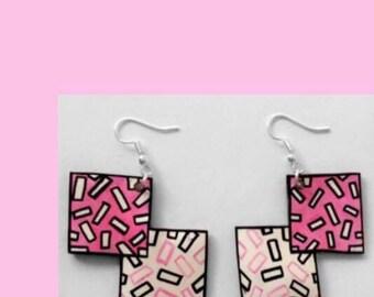 pink squares 2x