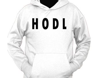 "Cryptocurrency inspired ""HODL"" hoodie"