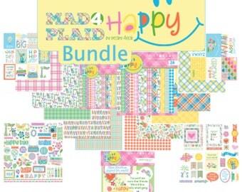 Photo Play Mad4Plaid Happy Bundle
