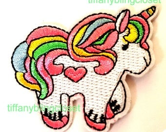 unicorn  iron on high quality  sequins / embroidered
