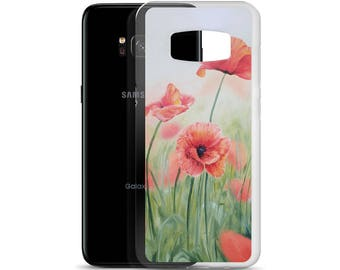 Poppies Samsung Case