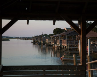 Docks at Sunset: Pawleys Island, South Carollina