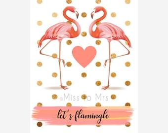 Flamingo Decor Sign