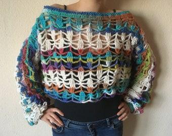 Pinch of Summer short sweater