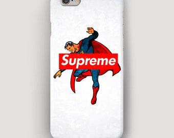 Superhero iPhone 7 Case, White iPhone 6S Case, iPhone X Case, Supreme Phone Case, Galaxy S6 Case, Supreme iPhone 8 Plus Case