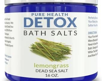 Detox Bath Salts- Lemongrass
