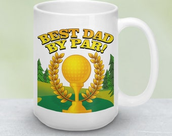 Fathers Day Gift | Dad Gifts | Dad Gift | Golf Gift | Coffee Mug Gifts for Dad | Ceramic Mug Gift for Men | Golfer Coffee Mugs Gifts for Men