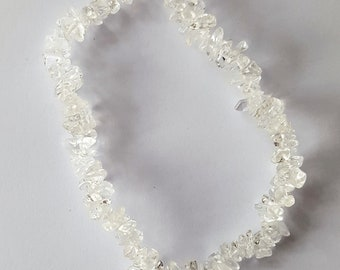 Optic Quartz Gemstone Bracelet