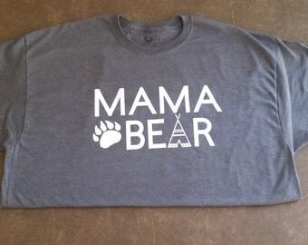 Mama Bear Shirt   Momma Bear   Mama Bear Tee   Mama Bear   Mama Bear Tshirt  
