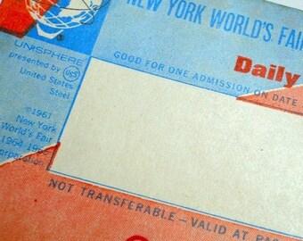 SALE WORLD'S Fair Ticket 1964-65 New York Daily Pass