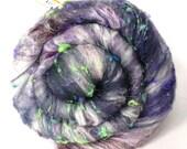 Smoothish Art Batt Set- 'F25-05'- 3.7 oz Spinning, Felting, Weaving, Papermaking Fiber