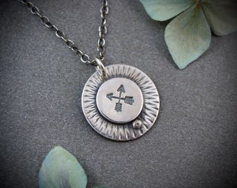 two arrows … protection amulet