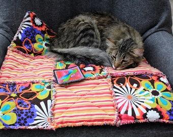 Pet Sofa Cover, Furniture Pet Cover, Cat Blanket, Blanket for Cats, Fabric Cat Blanket, Crate Mat, Travel Cat Blanket, Luxury Cat Blanket