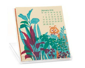 2018 Ilee Letterpress and Silkscreen Calendar