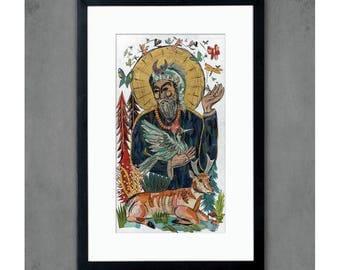 Saint Francis Art Print