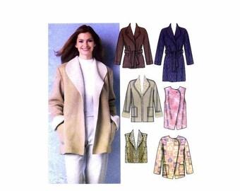 SALE Misses Coats Jackets Vests Simplicity 5306 Sewing Pattern Size 6 - 8 - 10 - 12 - 14 - 16 Uncut