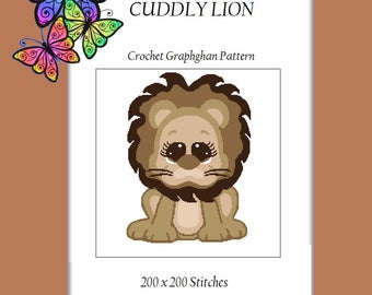 Cuddly Lion - Crochet Graphghan Pattern