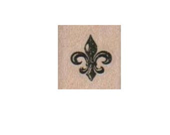 rubber stamp Fleur-De-Lis   number 2688 unmounted, cling stamp, wood mounted stamps scrapbooking