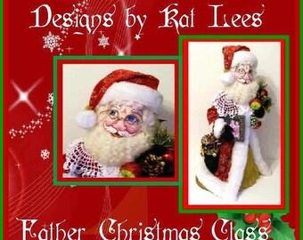 Santa Claus Doll, Santa Claus, Father Christmas, Kris Kringle, Christmas Dolls, Holiday Dolls