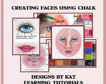 Creating Faces Using Chalk E-Pattern