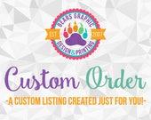 Custom Order for Miki