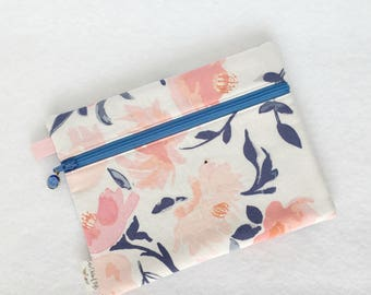 Rectangle Pouch Pencil Case // Aquarelle Study in Wash by Bonnie Christine